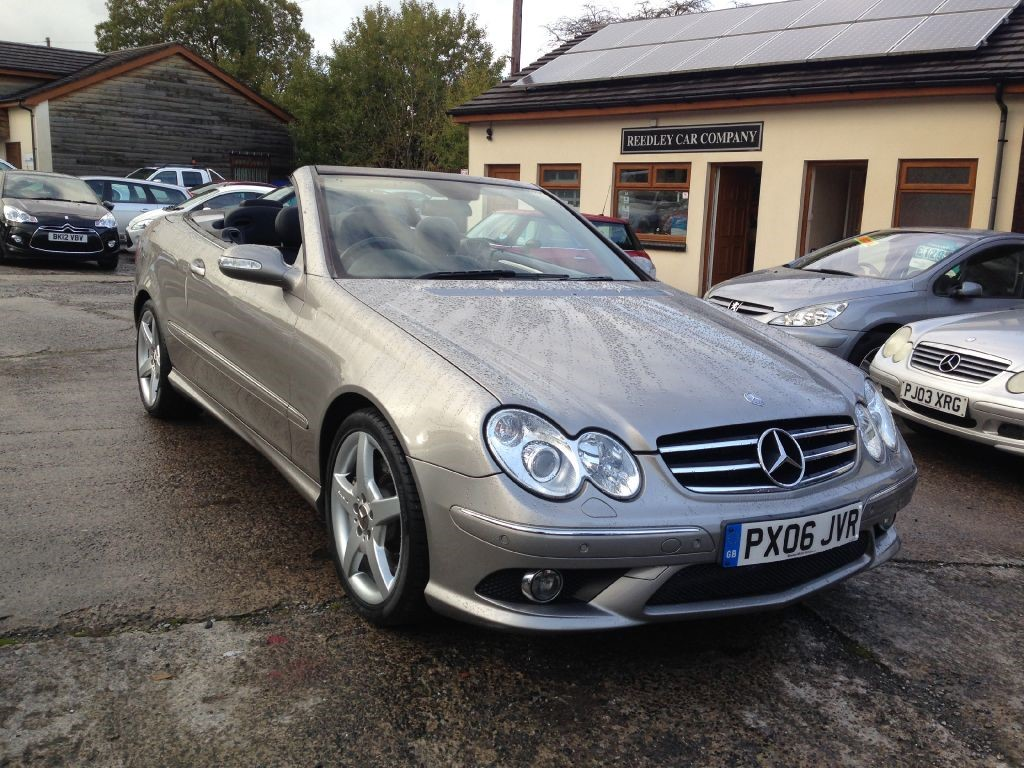 mercedes clk class clk350 clk 350 sport convertible amg package 44k miles for sale in accrington. Black Bedroom Furniture Sets. Home Design Ideas