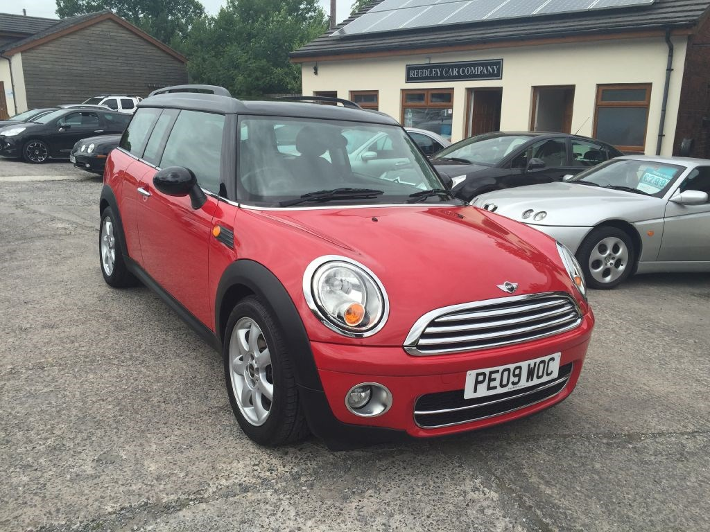 mini clubman cooper d clubman diesel 43524 miles chilli. Black Bedroom Furniture Sets. Home Design Ideas