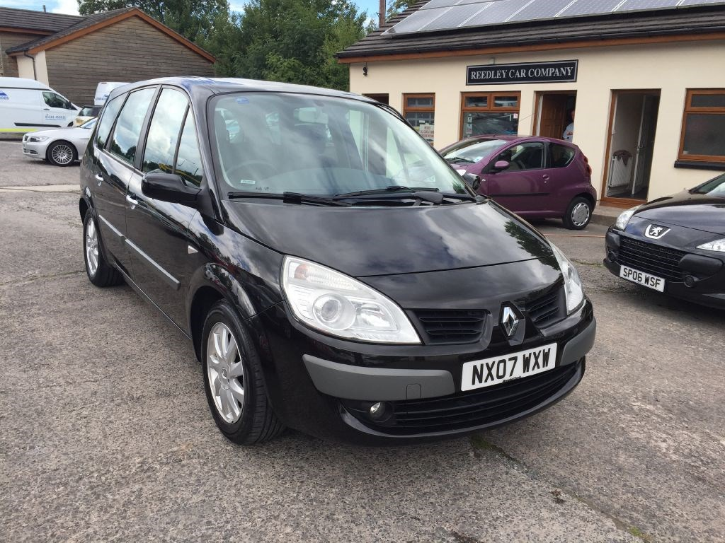 renault grand scenic dynamique dci 7 seater diesel only 71996 miles for sale in accrington. Black Bedroom Furniture Sets. Home Design Ideas