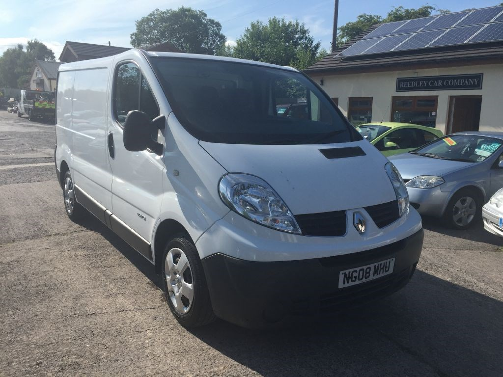renault trafic sl27 dci 115 swb 2008 van only 84k miles no. Black Bedroom Furniture Sets. Home Design Ideas
