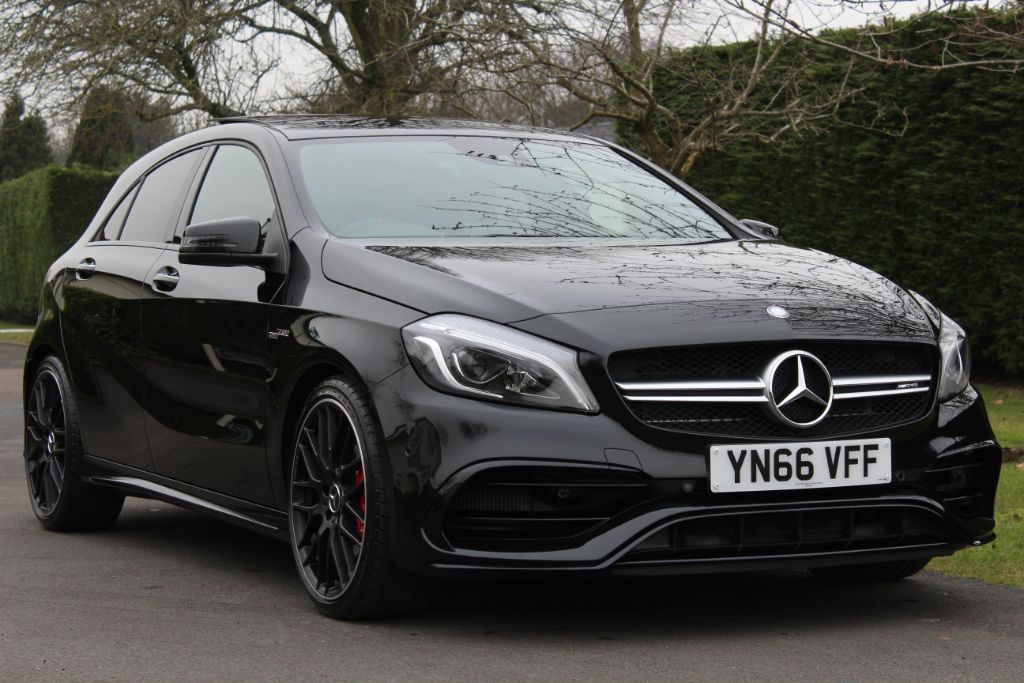 Used Cosmos Black Mercedes A45 Amg For Sale Hertfordshire
