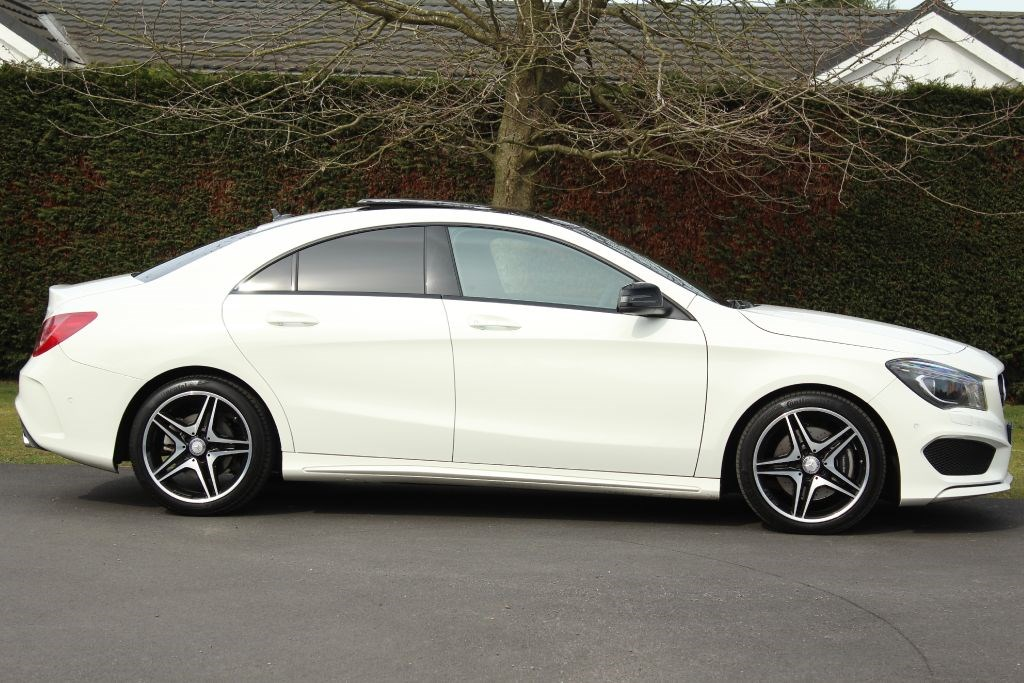 usedmercedes cla 220 cdi cla cdi amg sport for sale in. Black Bedroom Furniture Sets. Home Design Ideas