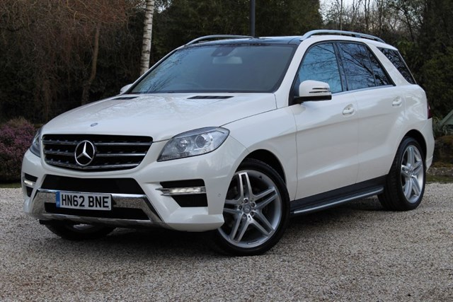 used mercedes ml350 for sale hampshire
