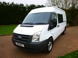Car of the week - Ford Transit 6 SEAT CREW VAN MEDIUM ROOF 2.4 TDCI - Only £7,250 + VAT