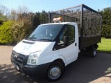 Car of the week - Ford Transit T350 LIMITED SINGLE CAB CAGED TIPPER 2.4 TDCI 140PS - Only £10,999 + VAT