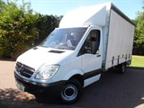 Car of the week - Mercedes Sprinter 313 CDI LWB CURTAIN SIDE WITH TAILIFT - Only £9,999 + VAT