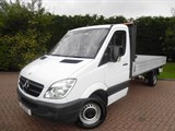 Car of the week - Mercedes Sprinter 313 2.1 CDI LWB DROPSIDE - Only £15,999 + VAT