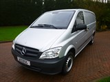 Car of the week - Mercedes Vito lwb panel van 110 cdi euro5 - Only £7,999