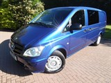 Car of the week - Mercedes Vito 113 CDI BLUEEFFICIENCY LWB 6 SEAT DUALINER - Only £17,250 + VAT