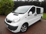 Car of the week - Vauxhall Vivaro 2900 2.0 CDTI SPORTIVE 6 SEAT CREW WITH AIR/CON AND ELE/PACK - Only £8,499 + VAT