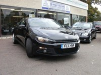 Used VW Scirocco GT TDI BLUEMOTION TECHNOLOGY