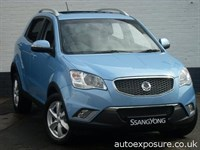 Used Ssangyong Korando ex automatic