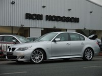 Used BMW 525d M SPORT Auto with Sat Nav and Full Leather