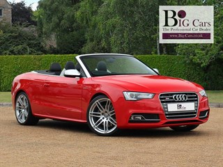 Click here for more details about this Audi S5 TFSI QUATTRO SS Sat Nav Parking Sensors Bluetooth