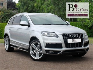 Click here for more details about this Audi Q7 TDI QUATTRO S LINE 7 Seats Bose