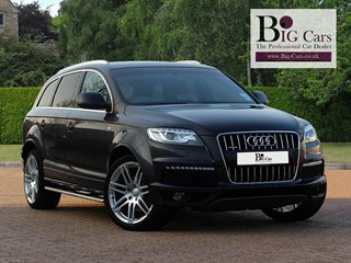 Click here for more details about this Audi Q7 TDI QUATTRO S LINE PLUS Twin Sunroofs