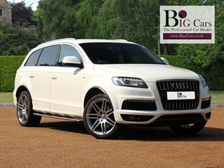 Click here for more details about this Audi Q7 TDI QUATTRO S LINE Automatic Heated Seats