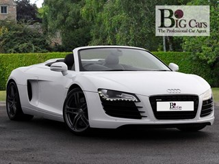 Click here for more details about this Audi R8 SPYDER V8 QUATTRO R-Tronic Sat Nav AMI Bang  Olufsen