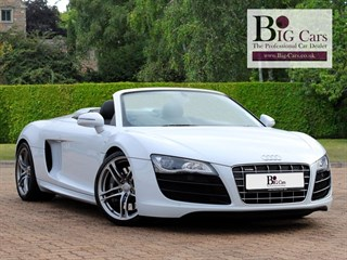 Click here for more details about this Audi R8 SPYDER V10 QUATTRO R-Tronic Sat Nav AMI