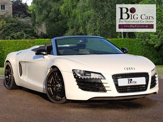 Click here for more details about this Audi R8 SPYDER V8 QUATTRO Sat Nav Bluetooth