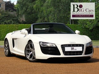 Click here for more details about this Audi R8 SPYDER V10 QUATTRO Bang  Olufsen 6 Disc CD Changer