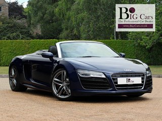 Click here for more details about this Audi R8 SPYDER V10 QUATTRO S-Tronic BO AMI