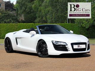 Click here for more details about this Audi R8 SPYDER V8 QUATTRO Sat Nav BO Camera