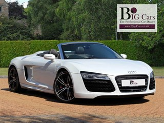 Click here for more details about this Audi R8 SPYDER V10 QUATTRO Sat Nav Bang  Olufsen Reverse Camera