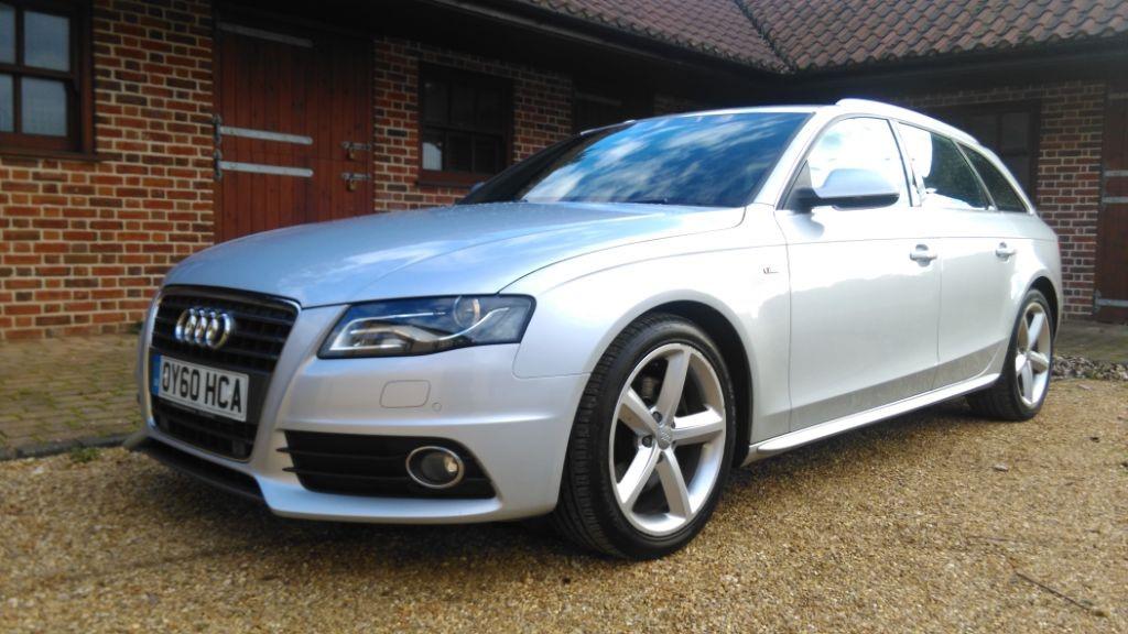 Used Silver Audi A4 Avant For Sale Cambridgeshire