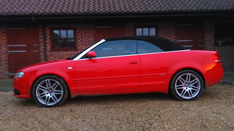 used red audi a4 cabriolet for sale cambridgeshire. Black Bedroom Furniture Sets. Home Design Ideas