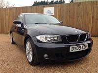 Used BMW 118d M SPORT 5DR LEATHER/CLOTH