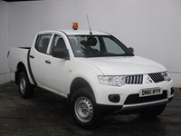 Used Mitsubishi L200 Double Cab DI-D 4Work 4WD AIR CON