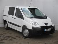 Used Peugeot Expert HDi Window Van. 6 seat NO VAT