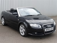 Used Audi A4 Cabriolet TDi S Line 2dr