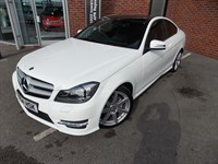 Used Mercedes C220 C-Class CDI Coupe AMG Sport Auto