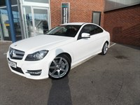 Used Mercedes C220 C-Class Mercedes-Coupe CDI AMG Sp