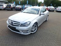 Used Mercedes C220 C-Class CDI BlueEFFICIENCY Coup?? AMG Sport Ed125