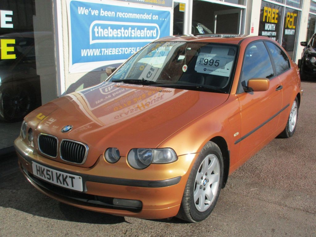 used orange bmw 316ti for sale lincolnshire. Black Bedroom Furniture Sets. Home Design Ideas