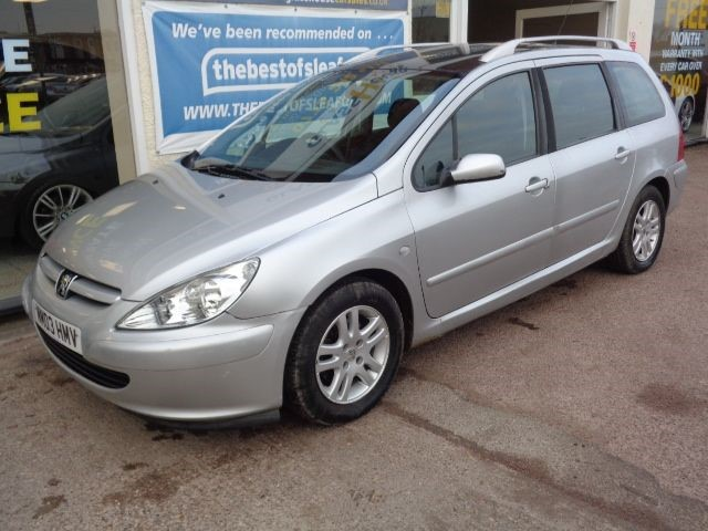 Peugeot 307 Sw In Anwick Lincolnshire Compucars