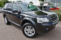 Used Land Rover Freelander TD4 Black and White 5dr Di