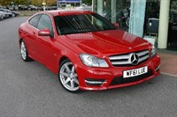 Used Mercedes C180 C-Class Sports BlueEFFICIENCY AMG Sport