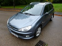Used Peugeot 206 SW VERVE LOOK AT THE MILEAGE