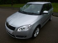 Used Skoda Fabia 16V 3 5dr LOOK AT THE MILEAGE F.S.SH