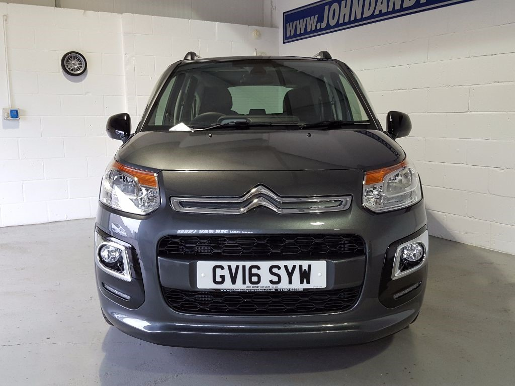 used shark grey metallic citroen c3 picasso for sale lincolnshire. Black Bedroom Furniture Sets. Home Design Ideas