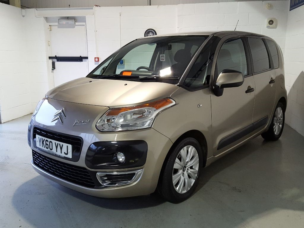 used mativoire beige metallic citroen c3 picasso for sale lincolnshire. Black Bedroom Furniture Sets. Home Design Ideas