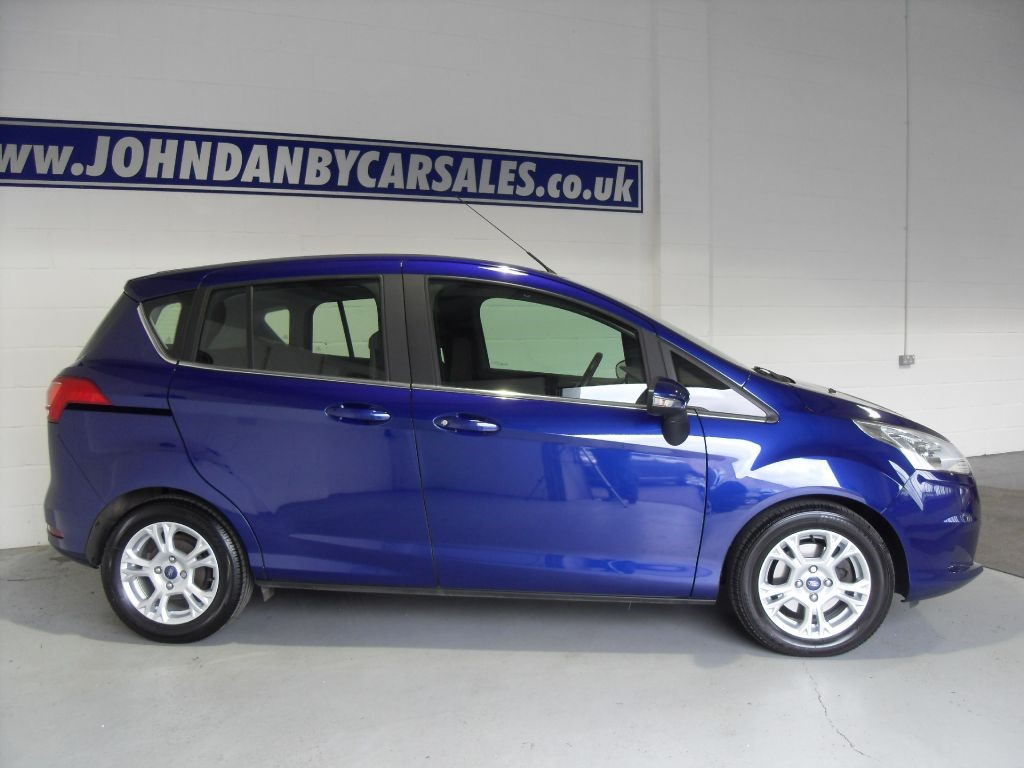 used deep impact blue ford b max for sale lincolnshire. Black Bedroom Furniture Sets. Home Design Ideas