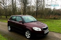 Used Skoda Fabia LEVEL 2 16V Very Low Miles, Parking Sensors, climate control