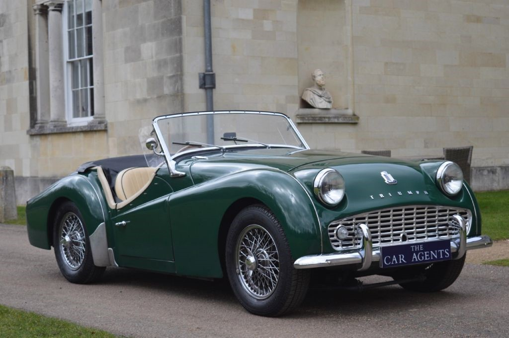 triumph tr3a for sale hitchin hertfordshire the car agents. Black Bedroom Furniture Sets. Home Design Ideas