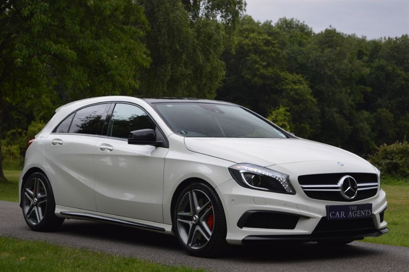 Mercedes a class a45 amg 4matic for sale hitchin for Mercedes benz amg hatchback price