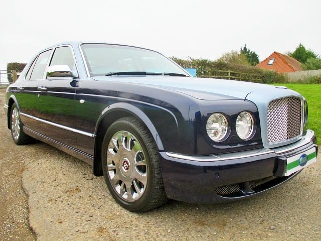 Bentley Arnage Arnage R Level 2 Mulliner Press Vehicle